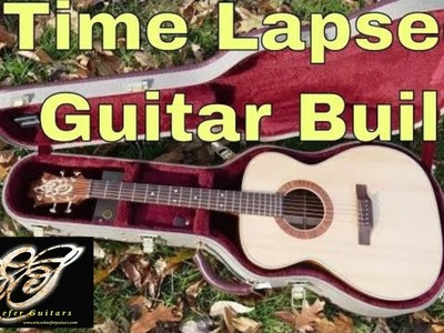 How to Build an Acoustic Guitar in 6 Minutes!