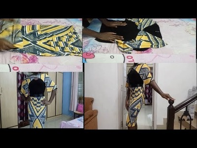 HOW TO CONVERT OLD CLOTH INTO TWO PIECE CLOTH