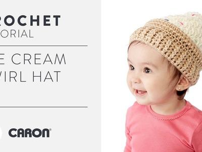 How to Crochet the Ice Cream Swirl Hat