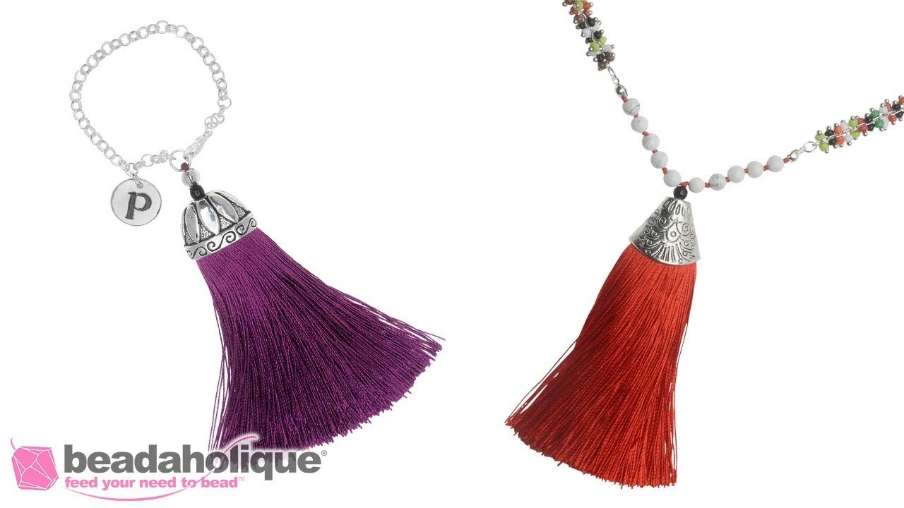 How to Finish Zola Elements Tassels for Jewelry