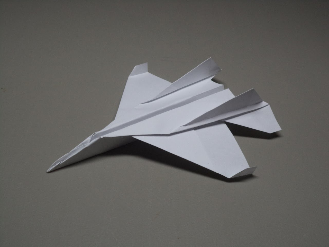 How to Fold an Origami F 15