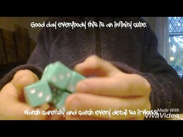 How, How to make a DIY Infinity cube , How to make a DIY