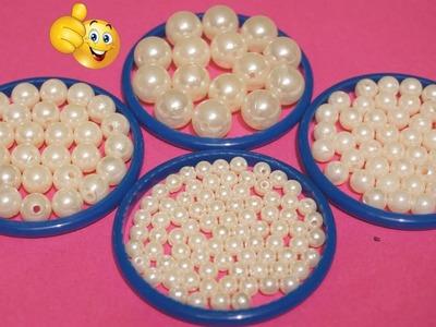 How To Make Beautiful Pearl Necklace At Home | DIY | Pearl Jewelry Making | Chokar | uppunutihome