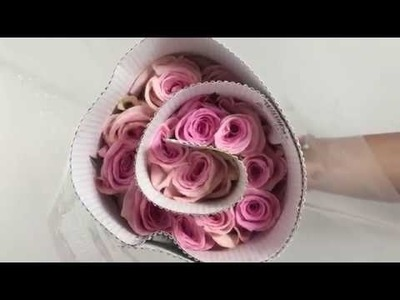 How to make flower arrangements and do it yourself roses bouquets.