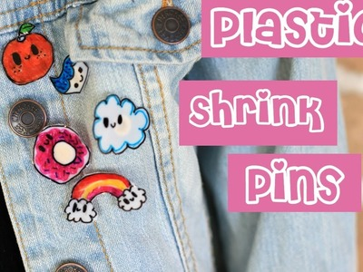 How to Make Plastic Shrink Pins Gift Idea