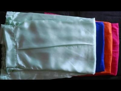 How to make six kali petticoat at home| DIY six kali petticoat