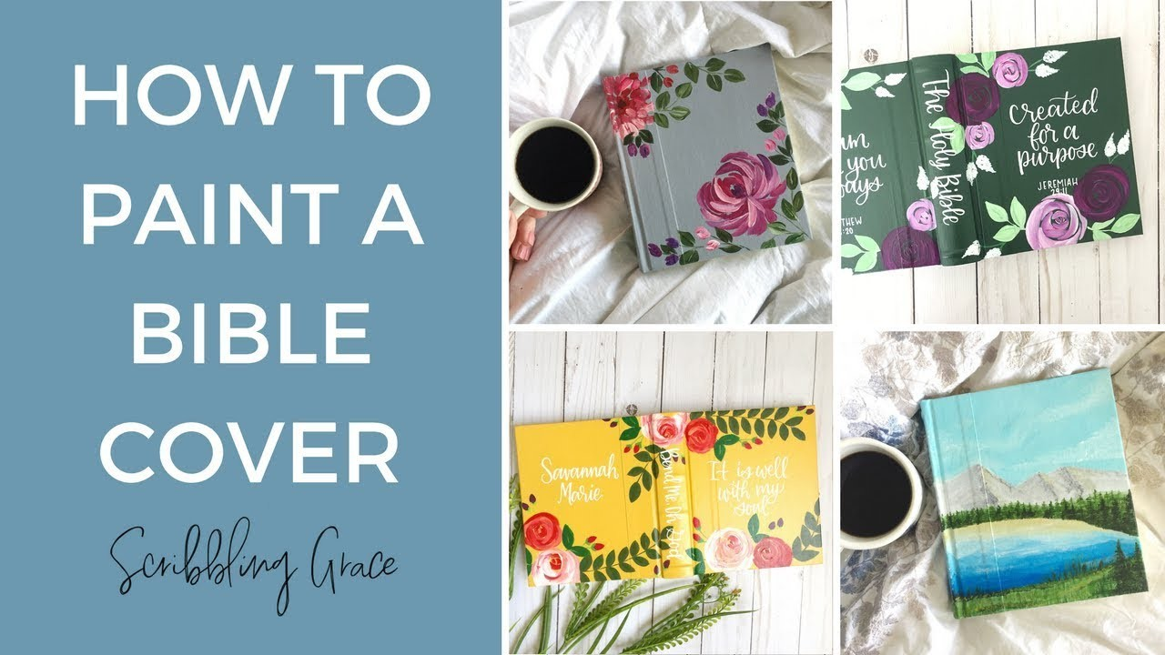 How To Paint The Cover Of A Bible