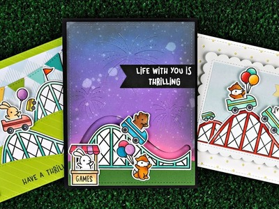 Intro to Coaster Critters + 3 cards from start to finish