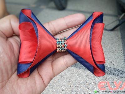 Laço Triangle ???? Ribbon Bow ???? DIY by Elysia Handmade