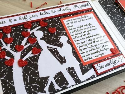 Love Story book || Anniversary Gift