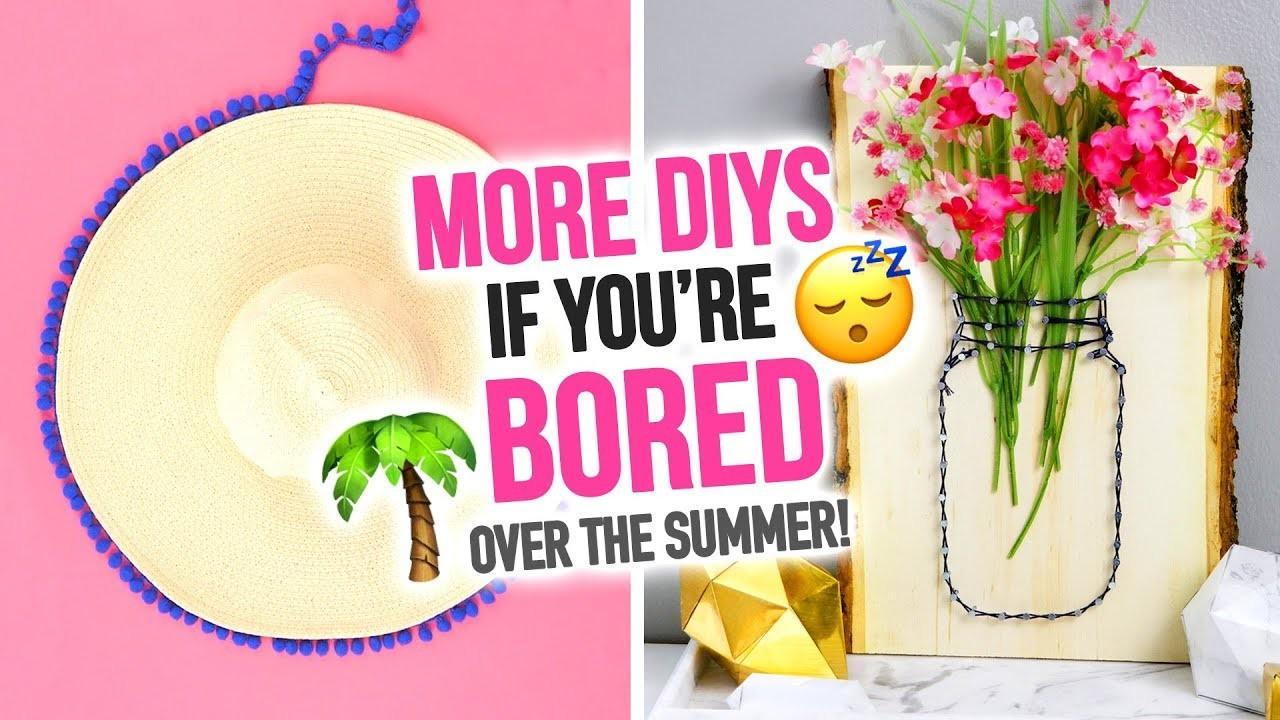 MORE DIYs to Do When You're Bored Over the Summer! - HGTV Handmade