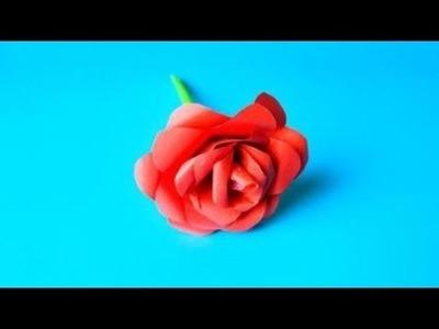 Origami Bouquet Of Roses ????, Easy Origami Tutorial Seri