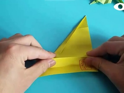 Origami Leaves ????, Easy Origami Tutorial Seri