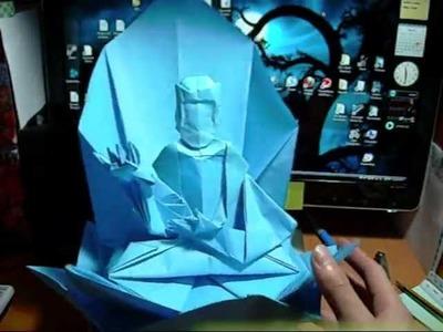 Origami Pegasus and Origami Buddha (Not A Tutorial) (Reuploaded)