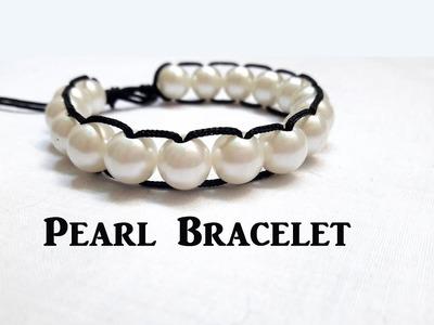 Pearl bracelet making at home.Thread bracelets.How to make thread bracelets at home.Creation&you