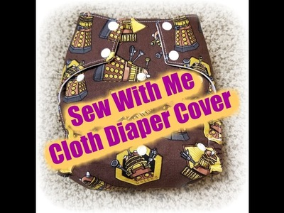 Sew With Me - Cloth Diaper Cover (2) - Cutting out the first piece