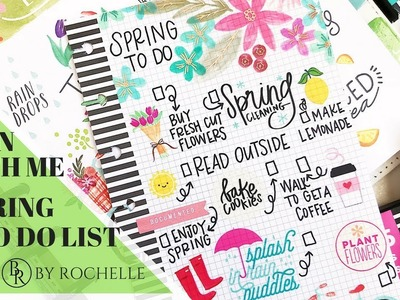 Spring To Do List   Plans by Rochelle