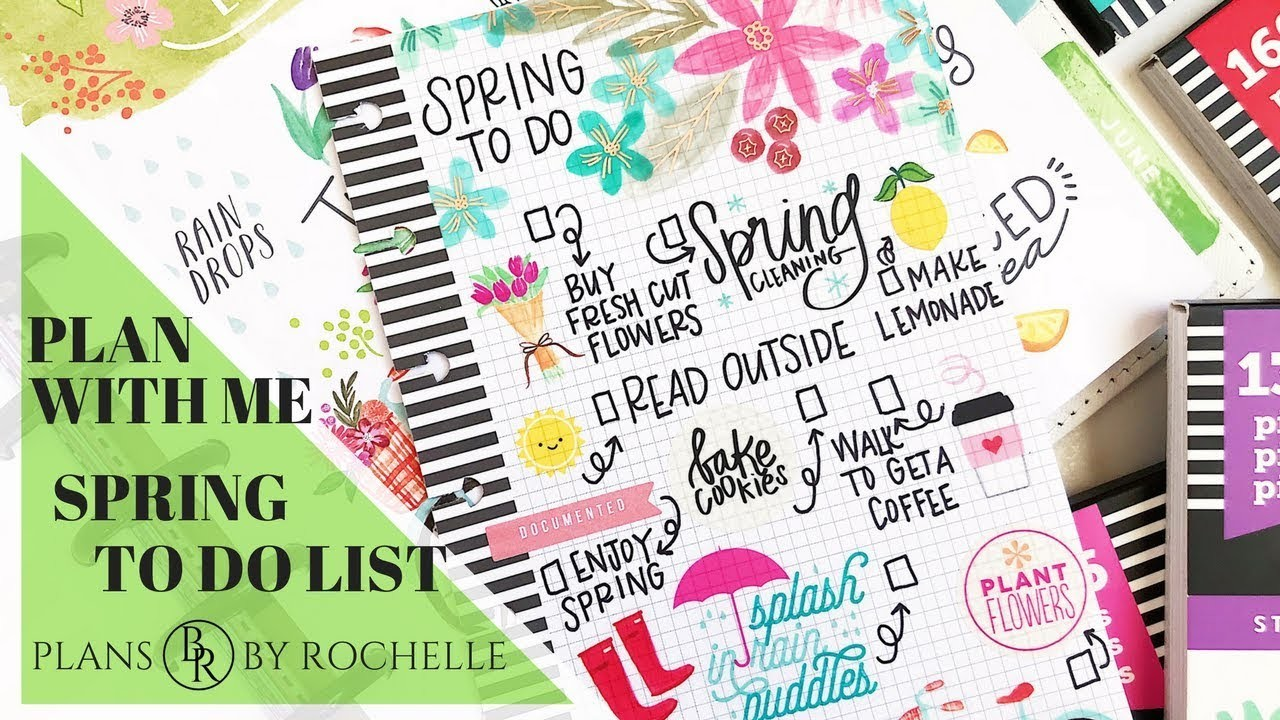 Spring To Do List | Plans by Rochelle