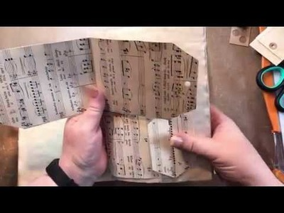 #22 - 30DC MUSIC PAPER TAG POCKETS