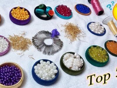 5 Genius Pearls Bridal Design to Make in 5 minutes | Jewellery Making at Home | Diy | Art