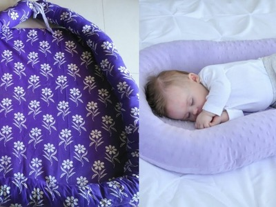 Baby pillow cosleep for new born baby| how to make baby cradle me pillow for baby's comfort