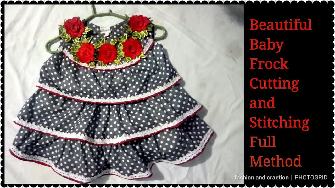 a5feafe7b21c Beautiful Baby frock Cutting and Stitching best frock design for ...