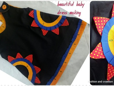 Designer Baby Dress and cute Frock for girls and  beautiful baby dress.latest kids designs for girls