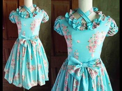 ♣ DIY Floral Lolita Dress 15 ♣ Lolita Dress Tutorial