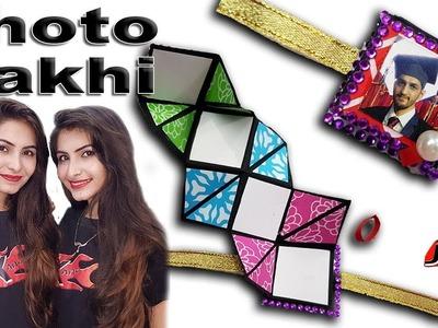 DIY Photo Rakhi for Raksha Bandhan 2018 -  How to make - JK Arts 1472