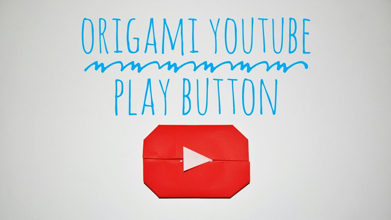 Easy Origami Youtube Play Button - photo#20