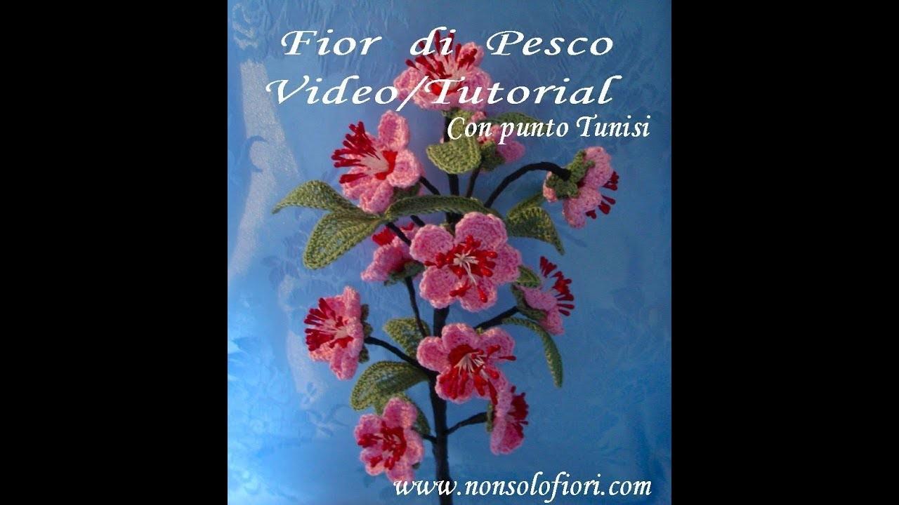 Fior di Pesco all'uncinetto - Crochet flowers - Peach flowers