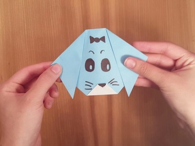 Folding for Fine Motor: Origami Dog Face