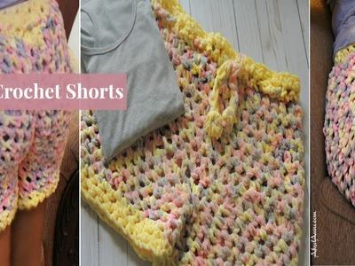 How to Crochet Shorts -Cozy Crochet Shorts
