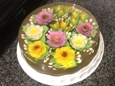 How to make 3D Gelatin Art Cake