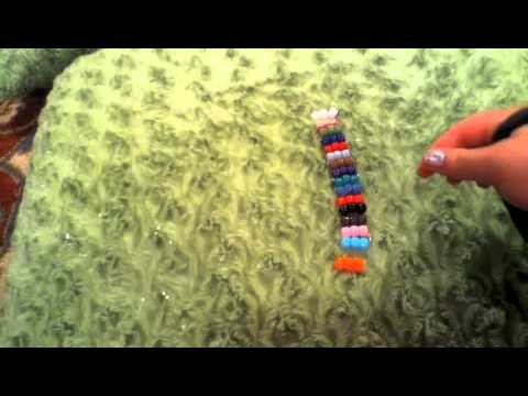How to make a kandi.pony bead ladder