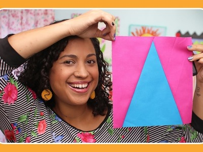 """How to Make a Peak Quilt Block with 10"""" Slicer and Crafty Gemini"""