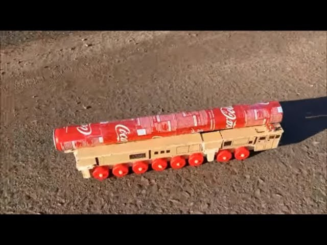 How to Make an Intercontinental Rocket Complex - Amazing Cardboard Car