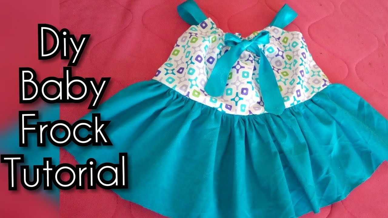 How to make baby pillowcase frock full cutting and stitching easy tutorial | Eid frock Baby frock