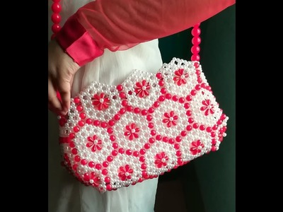 How to make beaded bag for valentines day