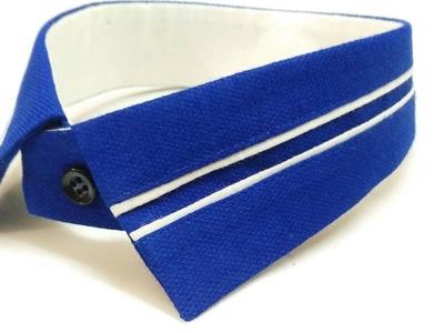 How to make designer shirt collar