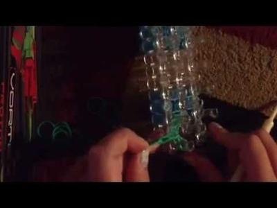 How to make Rainbow Loom earrings