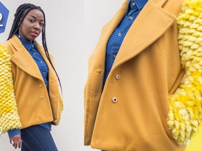 HOW TO: SEW A TEDDY COAT PT 2 | SLEEVES & LINING | KIM DAVE