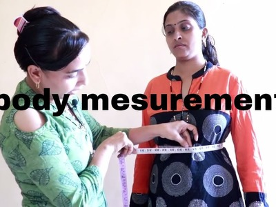 How to take dress body measurement | Professional style | Geeta ladies tailor