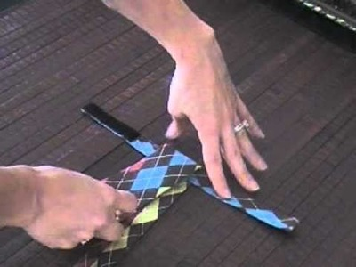 How to tie a two piece boys tie