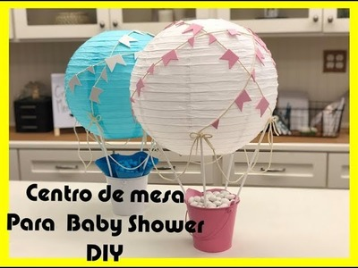 Idea para Centro de Mesa para Baby Shower 2018-BSC001