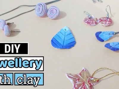 Make your own Unique Jewellery with Air dry Clay- Easy & Super Affordable DIY