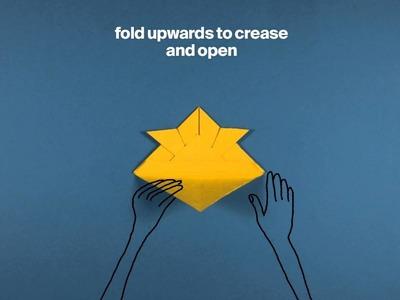 #MetKids—How to Fold an Origami Samurai Helmet
