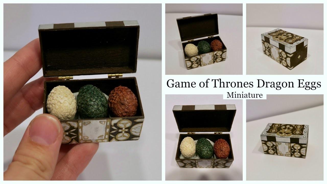 Miniature Game of Thrones Dragon Eggs Tutorial