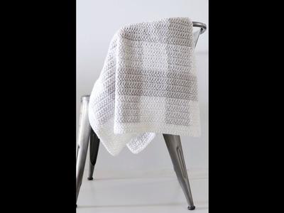 Modern Grey Gingham Baby Blanket