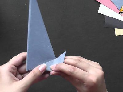 Origami in Kannada  - Make a Yacht
